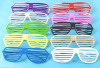 Wholesale Best price Full Shutter Glasses Sunglasses Glass fashion shades for Club Party