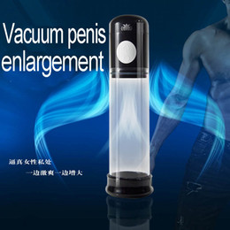 Wholesale Vacuum penis enlarger extender pump Penis enlargement sleeve male enhancement proextender adult sex toys products for men