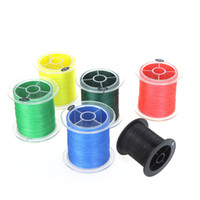 Wholesale 6 Colors New M LB mm Dyneema Braided Braid Fishing Line Strong Braided Strands H10469