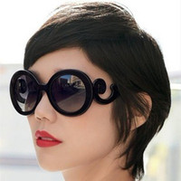 Wholesale 10pcs NEW Retro inspired Women Butterfly Clouds Arms Semi Transparent Round Sunglasses