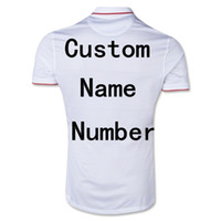 Wholesale Top Thai Quality Brazil World Cup USA Soccer Jersey Football Shirt Customize United States White Home Jereys