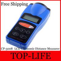 Wholesale CP LCD Ultrasonic Distance Measurer FT Laser Pointer Designator electronic Measuring tape Digital rangefinder