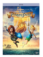 Active Red/Blue  2014 Latest Cartoon Movies , The Pirate Fairy,1:1 best quality DVD mvoies, ,Free Shipping -180pcs lots
