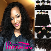 100g Brazilian Hair Natural Color Black 5A 100% human hair weaves brazilian kinky curly virgin hair extensions 1b natural color black 3 4 5 pcs lot remy hair weft bundles ibeshion
