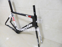 Road Bikes Carbon Fibre 3K 2014 Cervelo S5 VWD Frameset 3K BBright carbon road Frame Fork Seatpost Clamp Headset super light bicycle frame EMS free shipping