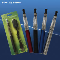 Electronic Cigarette Set Series Red EGo CE4 Blister Kits eGo-T Battery 650mah 900mah 1100mah Electronic Cigarette E Cigarette E Cig Kits CE4 Clearomizer Multi-Colors Instock