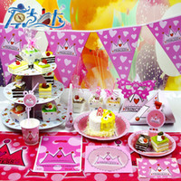 Wholesale 2014 festive supplies girls birthday celebration cake cartoon paper tray low carbon environmental equipment