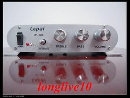 Wholesale Freeshipping LP car amplifier motorcycle Motorbike amplifier MP3 Bass Computer Amplifier