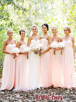 Model Pictures Ruched Sleeveless Cheap 2014 Hot Junior Bridesmaid Dresses Ruched Empire Strapless Sweetheart Neck Long Chiffon Fashion Formal Gowns Prom Dress