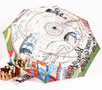 Wholesale high quality Pirates of the Caribbean Arts Umbrella Oil painting super sun protection sun anti uv umbrella arts umbrella