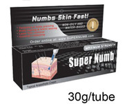 Wholesale 2014 low price g tube tattoo BLACK Super numb cream Anaesthetic for Tattoo Gun Needle Ink Cups Grips Kits Tattoo Body Piercing