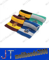 Wholesale Harry Potter Scarf Scarves Gryffindor Slytherin Hufflepuff Ravenclaw MYY612