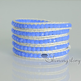 leather rhinestone adjustable bracelets wristbands bracelets multi layer wrap bracelets honesty bracelets Mens fashion jewelry charm bracele
