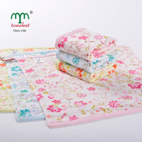 Wholesale Printing Floral Cotton Hand Towels Terry Face Cloths quot quot