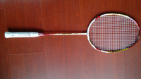 Wholesale victor badminton racquet Brave Sword LYD red Carbon Fiber with badminton bag pieces
