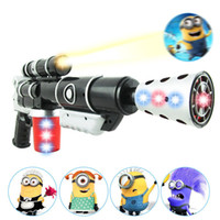Wholesale 1404L new hot Thief Daddy D projector with music and light electric gun sound gun flash gun gun toys