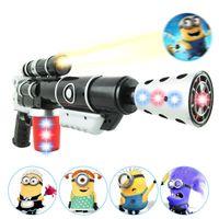 Wholesale 1404L new hot Thief Daddy D projector with music and light electric gun sound gun flash gun gun toys