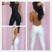 100% Linen Shorts Women Wholesale New fashion 2013 One Shoulder bandage jumpsuit Hollow Out Backless bodycon dress sexy women Jumpsuits For Party