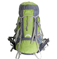 Wholesale 2014 New arrival L Double shoulder sport mountaineering bag foldable nylon camping backpack outdoor travel backpacks