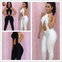 100% Linen Shorts Women jumpsuits Free shipping New fashion 2013 bandage dress Hollow Out Backless bodycon dress sexy women dresses For Party H7101