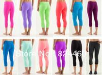 Wholesale Hot Lululemon Wunder Under Pant LULU LEMON YOGA PANTS FOR GIRLS Cheap LULULEMON STORE SIZE