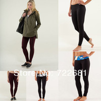 Wholesale Lululemon Wunder Under Pant LULU LEMON YOGA PANTS FOR GIRLS SIZE Sport Wear Long Pants