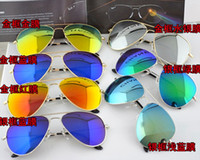 Wholesale new hot color polarized sunglasses classic frog mirror men model of fashionable sunglasses set