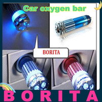 Wholesale V Mini Auto Car Fresh Air Ionic Purifier Oxygen Bar Ozone Ionizer Car Air Cleaner
