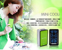 Wholesale New Handheld Rechargeable Mini Bladeless Fan USB Fan conditioned portable handheld air conditioner small fan