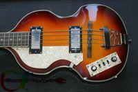 left handed bass guitar - Custom Left Handed Bass Guitar Strings violin Bass Guitar Vintage Electric Bass Guitar OEM
