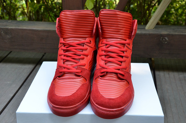 Cheap red bottom sneakers for sale 100% Genuine leather 1 pairs ...