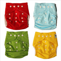 Wholesale new adjustable size Baby Sassy washable waterproof and leak proof ventilating Baby Cloth Diapers YP