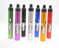 Wholesale click N vape sneak A vape vapor smoking metal pipe exceeding ago ego hookah shisha galss bongs Vaporizer weed Lighter sneak a toke weed