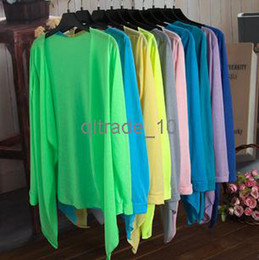 Wholesale Factory price Beach Sun Summer Protection Clothing Knit Tops Air conditioned blouses Shawl Wrap colors pet15 DHL free