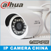Wholesale Dahua Mp support POE IPC HFW2100 HD Network Water proof IR Mini Bullet IP Camera POE P CCTV IPC HFW2100P