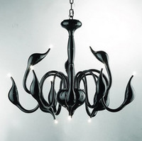 Wholesale HOT SELLING MODERN SWAN METAL CHANDELIER PENDANT LIGHT DIA100CM H65CM L