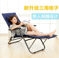 Wholesale Sun Lounger Deck chair Nap chair Beach chairs Office Lunch chair Leisure chairs Folding chairs Single bed lunch