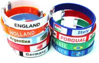 Wholesale Hot sale new Combination Football Sports Souvenir Bracelet Silicone Bracelet