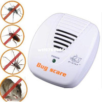 Wholesale 2014 New Arrival Hot Sales Ultrasonic Electronic Anti Mouse Mosquito Insect Cockroach Pest Repeller Reject