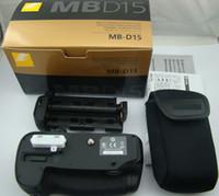 Wholesale Battery Grip For Nikon D7100 Multi Power Shutter Battery Grip for Nikon D7100 SLR Camera MB D15 MBD15 EN EL15 MH