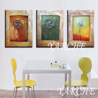 Cheap hand painted large oil painting Oil pure bumpmaps quality thick decorative stereoed abstract rose l8