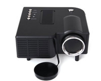 Wholesale 30H Lumens Home Mini LED Projector x Native Resolution Aspect Ratio Supports HDMI USB VGA IR SD Card