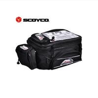 Wholesale Hotsale Scoyco MB09 Motorcycle Tank Bag Sport Helmet Bags Racing Motobike Backpack Magnet Luggage Travel Accessories