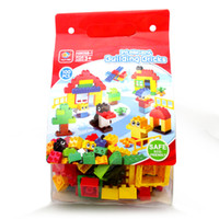 Wholesale Creative Pack bag Compatible With Duplo Assembles Particles DIY Toys Building Blocks Sets Large Bricks