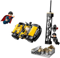 Wholesale Superman General Zod Car Building Block Sets Model Bricks Classic Toys For Children Bozhi