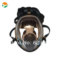 SA01   Free shipping military and police gas mask with double filter cartridge