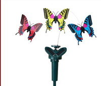 Wholesale Solartoys children s puzzle DIY creative deformation toy solar Butterfly
