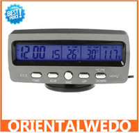 Wholesale 1 pc Brand New LCD Display Car Thermometer Voltage w Ice Alert Guaranteed latest