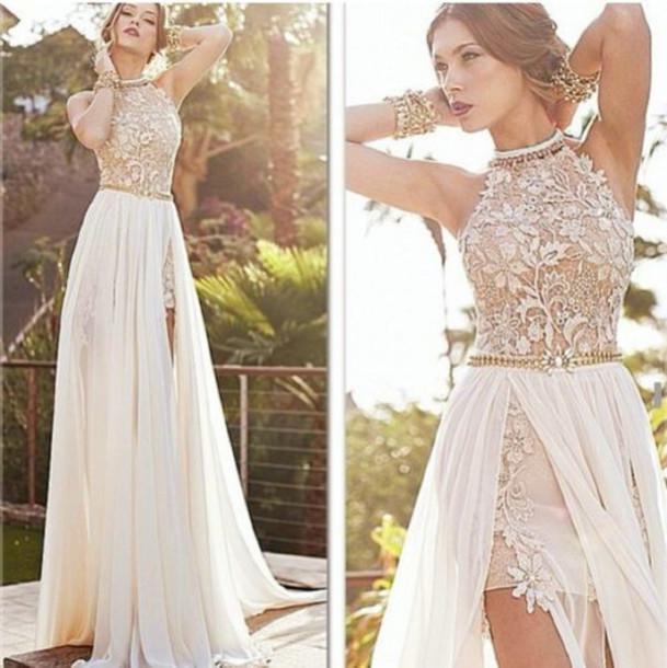 ... Halter Wedding Dresses For Bride Beach ...