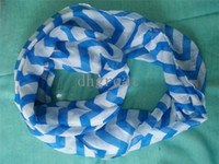 chevron scarves - big Loop Infinity women Scarfs Fashion Wide Chevron Wave Print Circle Scarf Loop Infinity Ladies Scarves
